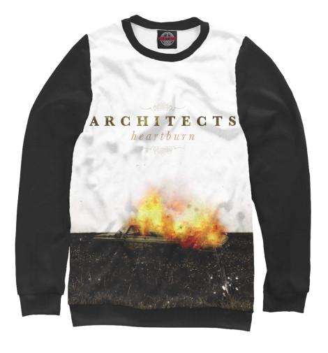 Фото - Мужской свитшот Architects от Print Bar белого цвета