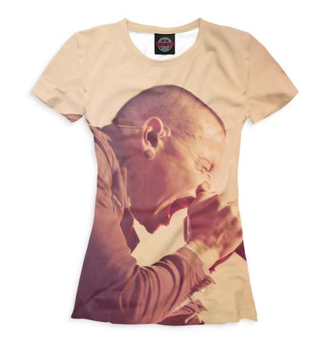 Женская футболка Chester Bennington