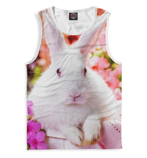 Мужская майка Кролики