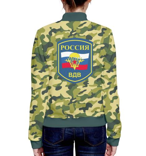 где купить Бомбер Print Bar Россия ВДВ по лучшей цене