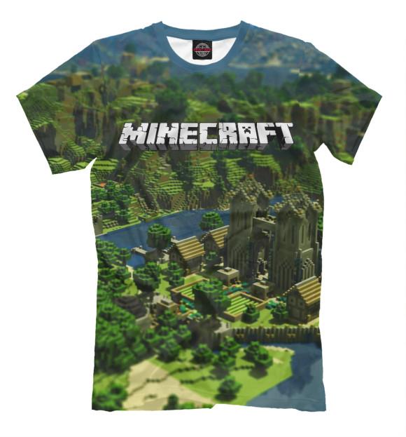 Купить Мужская футболка Minecraft MCR-368073-fut-2