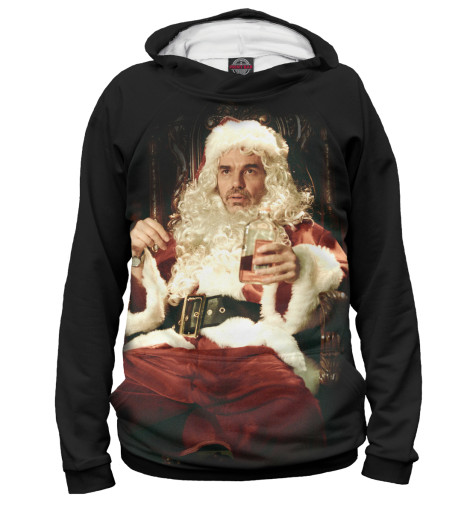 Худи Print Bar Bad Santa майка классическая printio во все тяжкие braiking bad ч б
