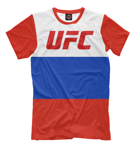 Футболка Print Bar UFC RUSSIA ufc 2 ps4