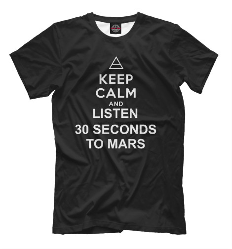 Футболка Print Bar 30 Seconds To Mars mission to mars