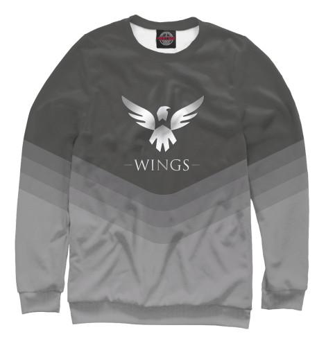 Свитшот Print Bar Wings Team свитшот print bar team ragnar