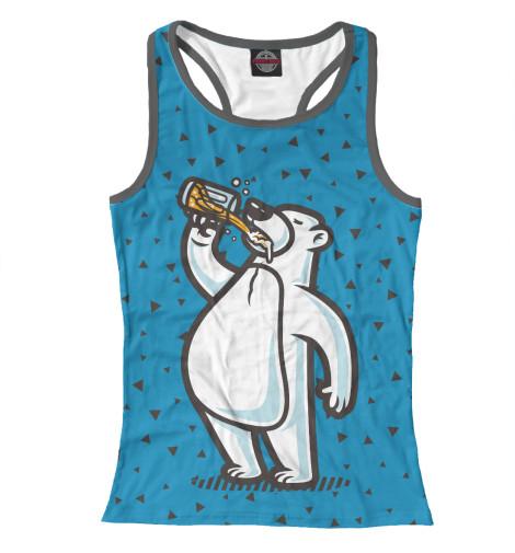 Майка борцовка Print Bar Пивной медведь