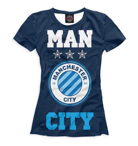 Футболка Print Bar Manchester City худи print bar manchester city