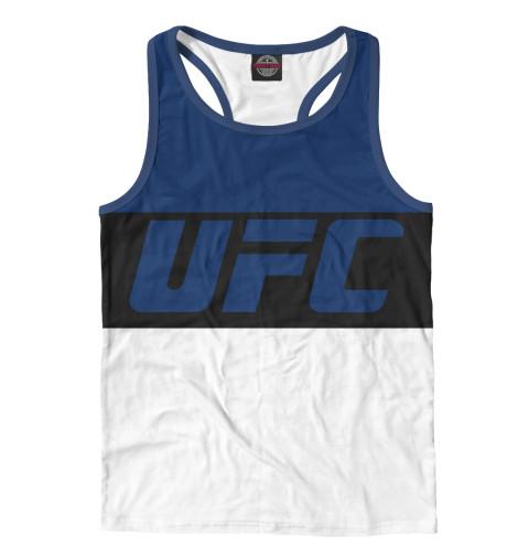 Майка борцовка Print Bar UFC BLUE ufc 2 ps4