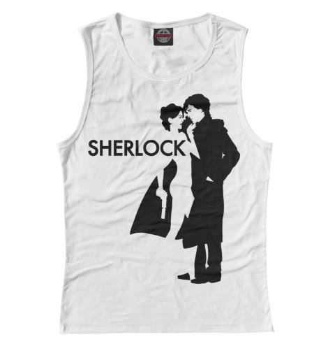 Майка Print Bar Шерлок - Sherlock майка print bar муха обиженная
