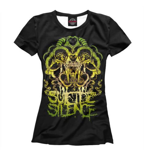 Футболка Print Bar Suicide Silence футболка print bar the sound of silence