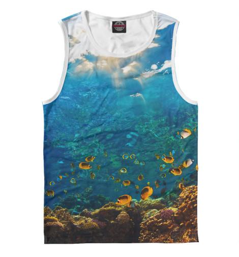Майка Print Bar Коралловый риф