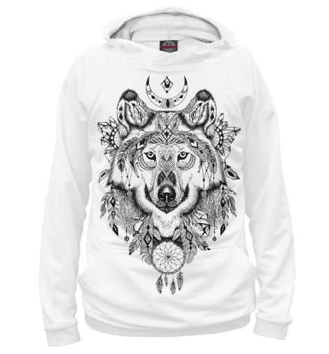 Худи Print Bar Волк тотем футболка print bar волк тотем
