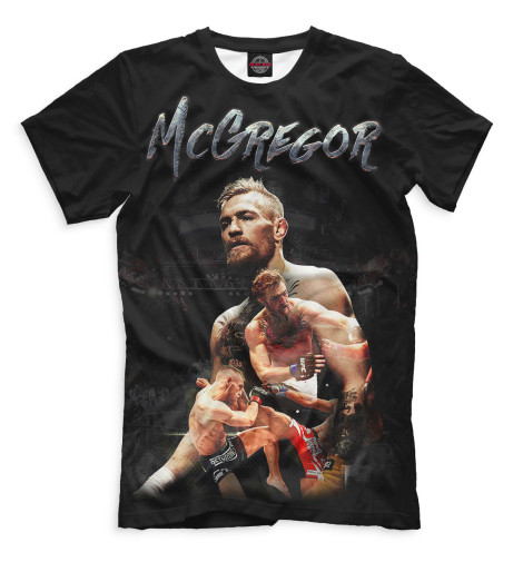 Купить Мужская футболка Конор МакГрегор MCG-187068-fut-2