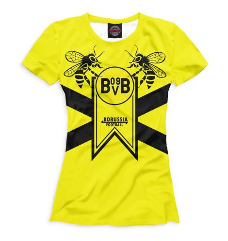 Женская футболка Borussia