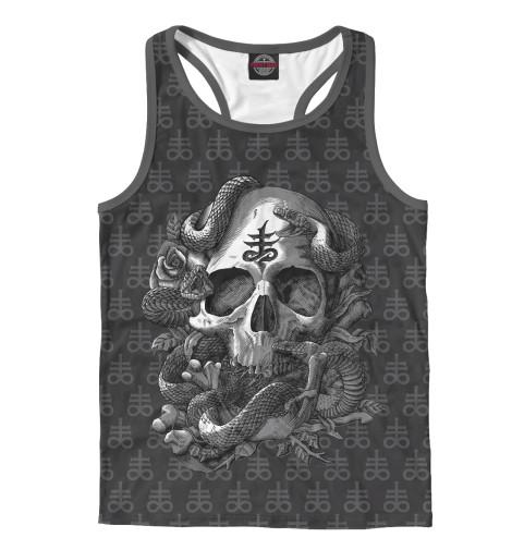 Майка борцовка Print Bar Satan Skull