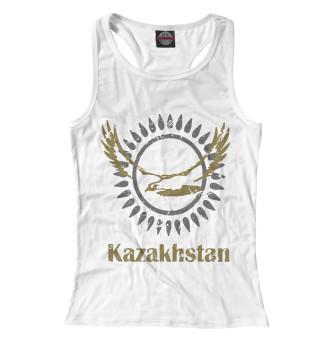 Женская майка-борцовка Солнечный Казахстан