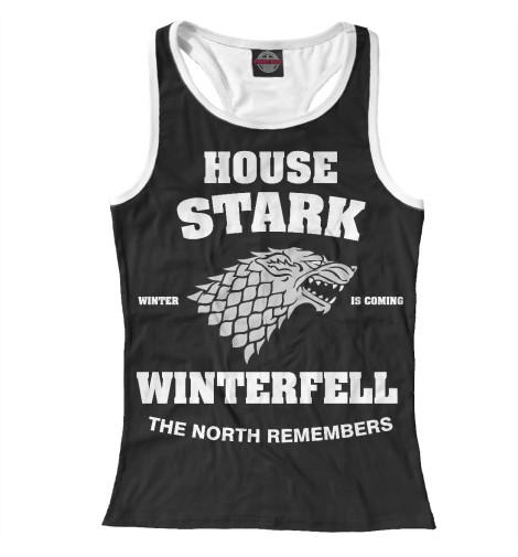 Майка борцовка Print Bar House Stark майка борцовка print bar house stark