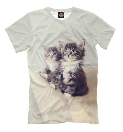 Футболка Print Bar Котята британские котята вислоухие полосатые в дзержинске дешево