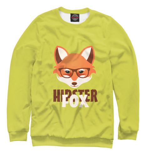 Мужской свитшот Hipster Fox Print Bar HIP-121945-swi
