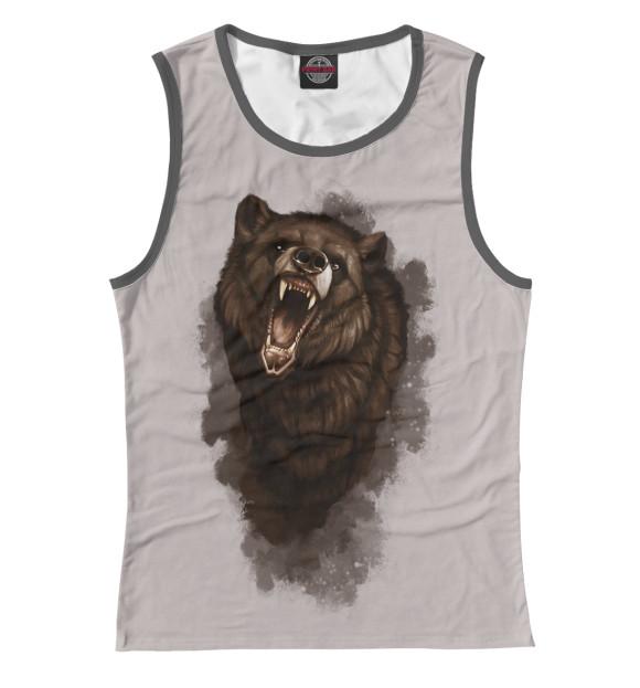 Купить Женская майка Бурый медведь MED-521009-may-1