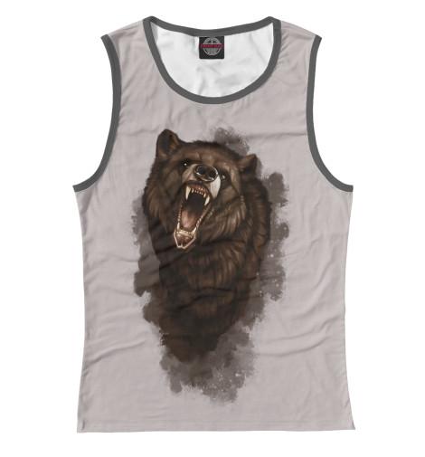 Майка Print Bar Бурый медведь майка борцовка print bar бурый медведь