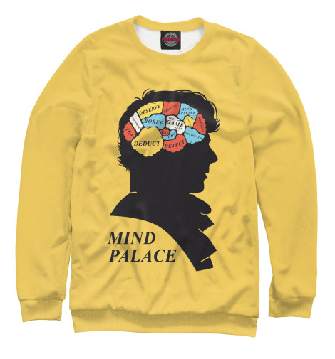 Свитшот Print Bar Mind palace свитшот print bar acid mind