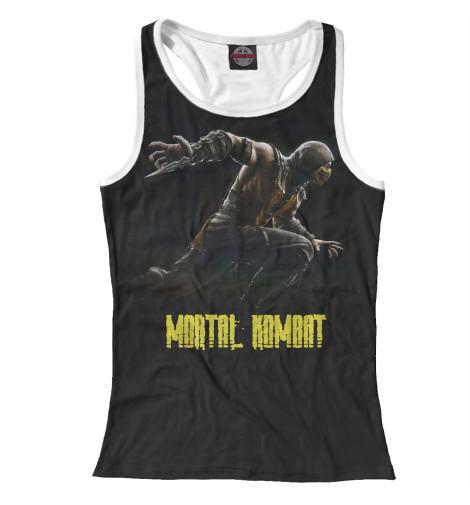 Майка борцовка Print Bar Mortal Kombat майка борцовка print bar our last night