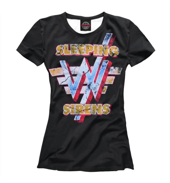 Купить Футболка для девочек Sleeping with sirens SWS-462624-fut-1