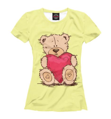 Футболка Print Bar Мишка футболка для беременных printio мишка me to you