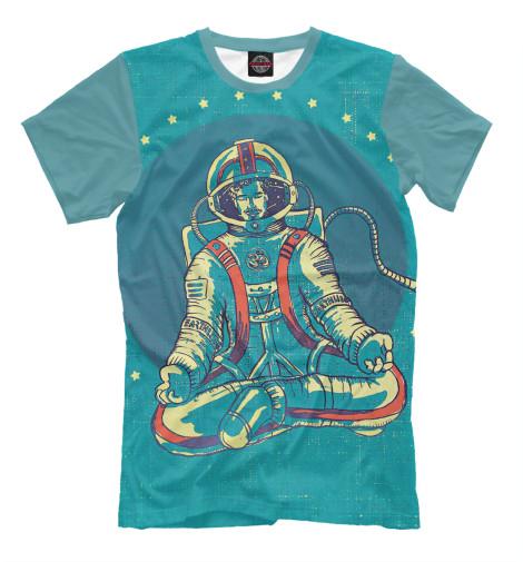 Мужская футболка Space Zen Print Bar HIP-147276-fut-2