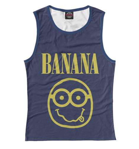 Майка Print Bar Banana Nerd поло print bar damask banana