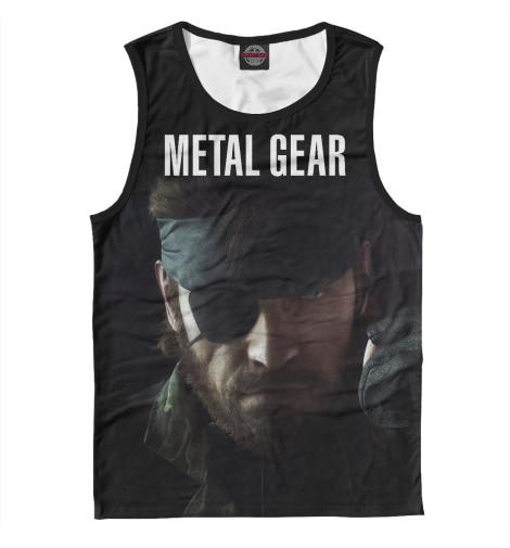 Майка Print Bar Metal Gear майка print bar metal gear