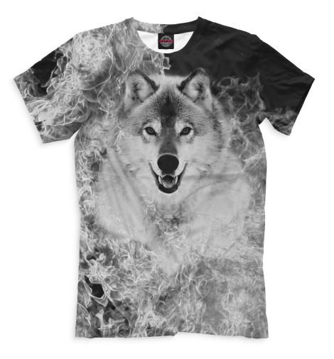 Купить Мужская футболка Волк VLF-960054-fut-2