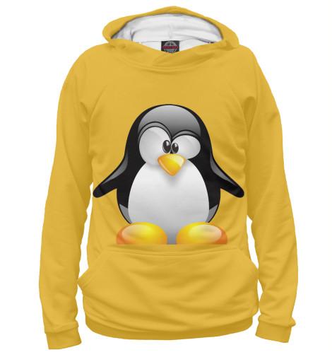 Купить Женское худи Пингвины PIN-810029-hud-1