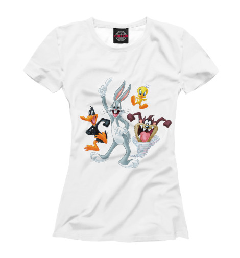 Футболка Print Bar Looney Tunes club tunes 6