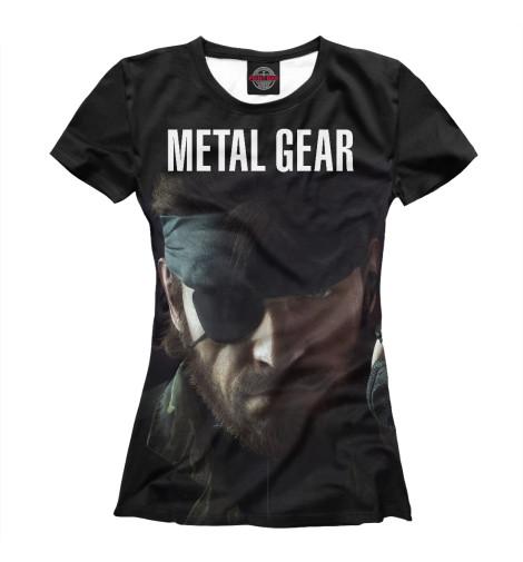Футболка Print Bar Metal Gear свитшот print bar metal gear