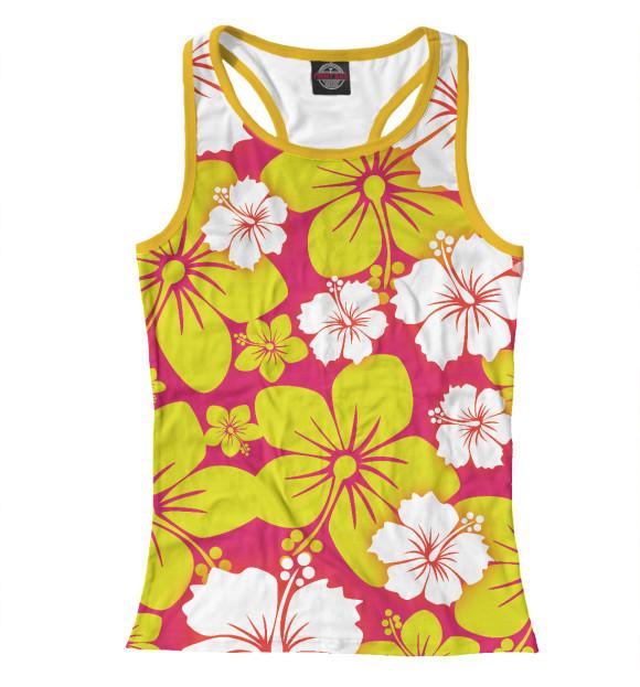 Купить Женская майка-борцовка Цветочный CVE-226060-mayb-1