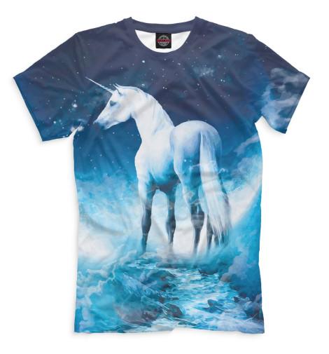Мужская футболка Единорог