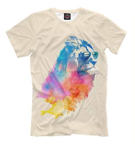 Купить Мужская футболка Лев HIP-143707-fut-2