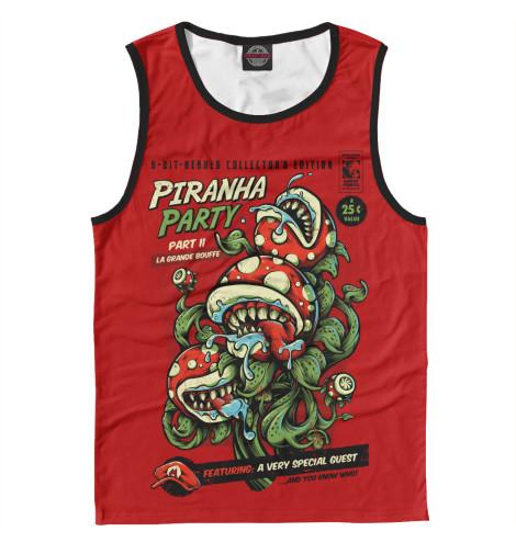 Майка Print Bar Piranha Party кеды piranha кеды