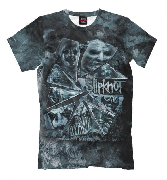Купить Мужская футболка Slipknot SLI-221323-fut-2