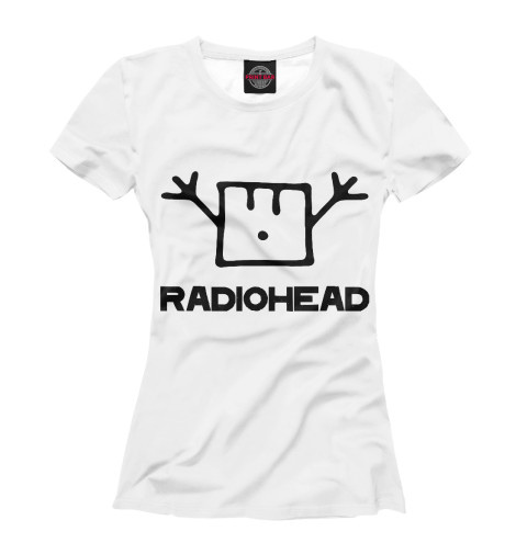 Футболка Print Bar Radiohead cd из японии radiohead