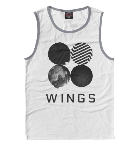 Майка Print Bar Wings BTS 2017 bts live trilogy episode iii the wings tour in seoul release date 2017 11 01