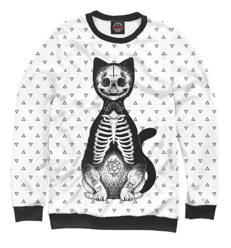 Свитшот Print Bar Готический кот