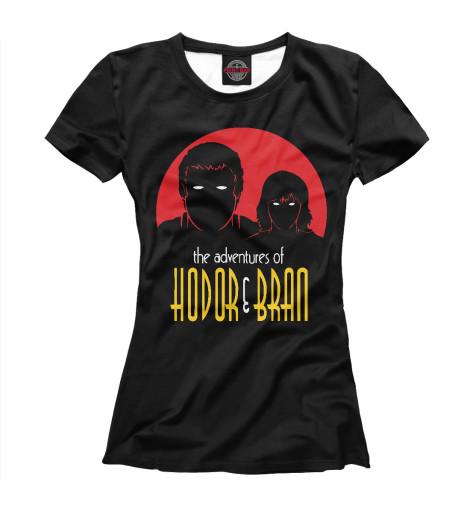 Футболка Print Bar Hodor & Bran футболка print bar sugar box