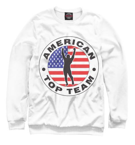 Купить Свитшот для девочек American Top Team MNU-730226-swi-1
