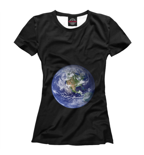 Футболка Print Bar Планета Земля бриз дневник школьный планета земля