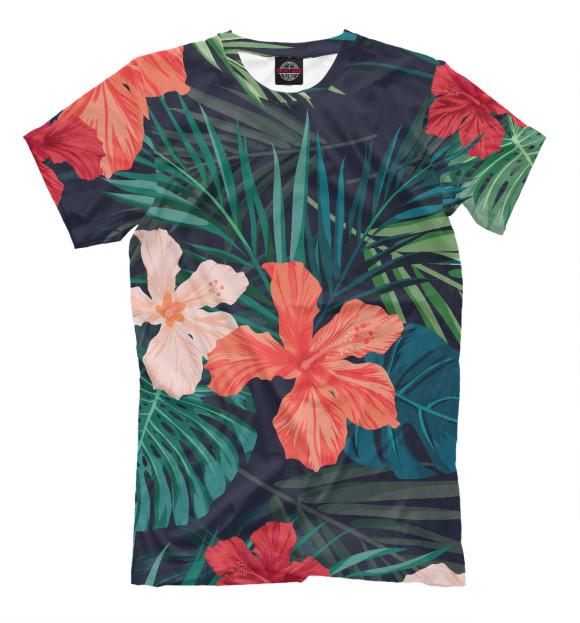 Купить Мужская футболка Tropical island CVE-100239-fut-2