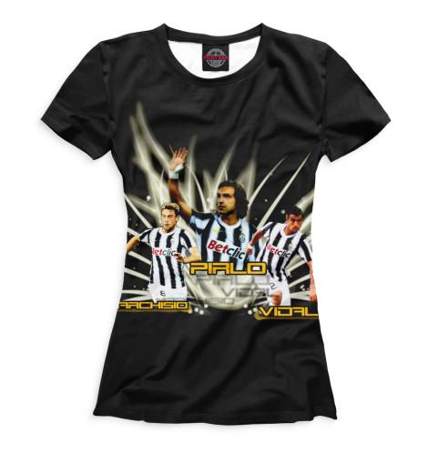 Женская футболка Juventus