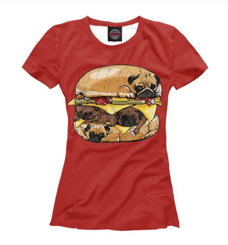 Купить Футболка для девочек Dog Burger EDA-946534-fut-1